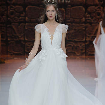 Inmaculada Garcia. Créditos: Barcelona Bridal Fashion Week