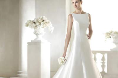 Les robes de mariée aux cols bateau : Symbole de sophistication et d'élégance