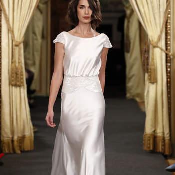 Vestidos de noiva com decote barco: os modelos mais elegantes e sofisticados!