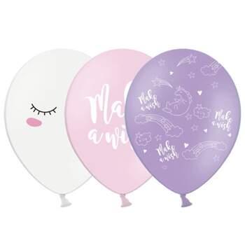 Ballons Licorne Mix 6 Pièces - The Wedding Shop !