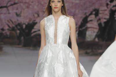 Vestidos de novia Inmaculada García 2017: propuestas elegantes y delicadas