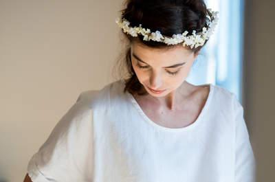Une inspiration nature et féminine pour une préparation pré-mariage intemporelle et chic
