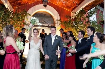 Casamento rústico chic de Juliana e Guilherme