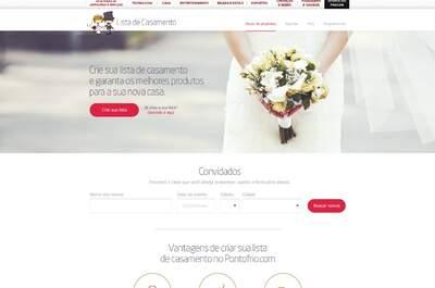 Lista de casamento Pontofrio.com: garanta os melhores produtos para sua casa nova