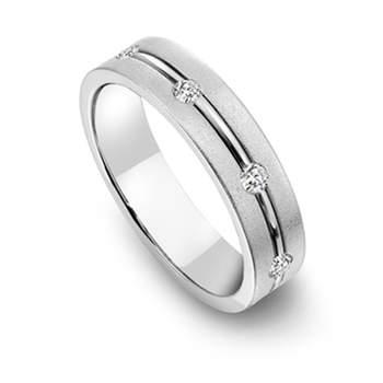 Bergio Platinum Wedding bands