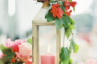 De mooiste verlichting voor je bruiloft, wees creatief met kaarsen!