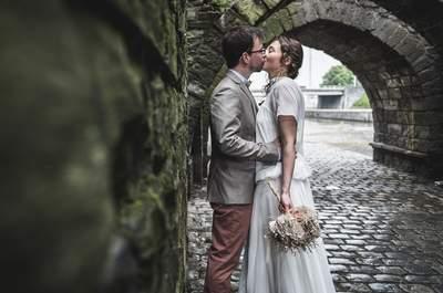 Myriam et Antoine : Un mariage DIY champêtre et vintage
