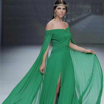61e2f1f59 Más de 30 vestidos de fiesta verdes. ¡Imperdibles diseños para invitadas  que te encantarán!