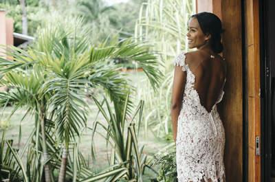 Vestidos de novia para lucir durante el día: Luce natural y radiante