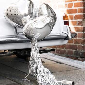 Kit Voiture Complet Argent - The Wedding Shop !