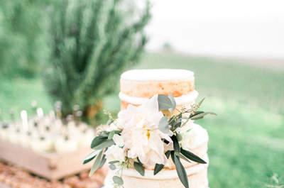 Inspírate con las 20 mesas dulces más originales para tu boda. ¡Deliciosas!