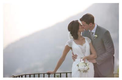 Tutto l'incanto della costiera amalfitana per il matrimonio di Emmy e Robert