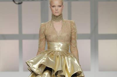Vestidos de fiesta Carla Ruiz 2017: detalles de palacio en diseños espectaculares