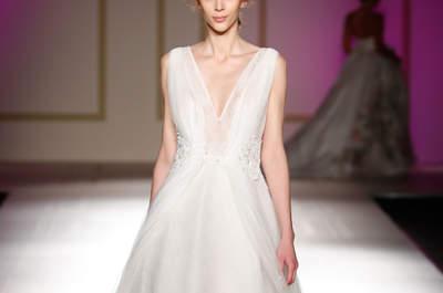 Vestidos de novia línea A: el corte que sienta bien a todas