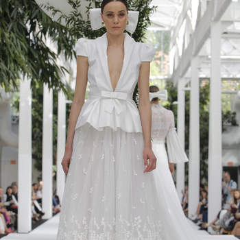 María Barragán. Credits_ Barcelona Bridal Fashion Week