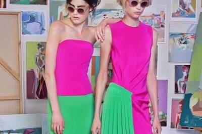 El color de Christian Siriano, un estilo que marcará tendencia en los vestidos de fiesta 2015