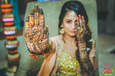 How to have groom's name to your mehndi in different ways