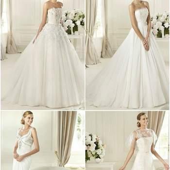 Vestidos de noiva Pronovias 2013: para todos os gostos.
