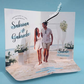 Invitaciones 3D Playa- Compra en The Wedding Shop