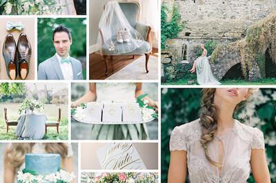 La boda de tus sueños en imágenes: Descubre esta hermosa decoración con colores polveados y románticos