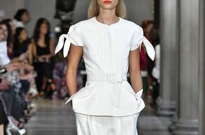 Inspiración novias New York Fashion Week primavera-verano 2017. ¿Te las vas a perder?