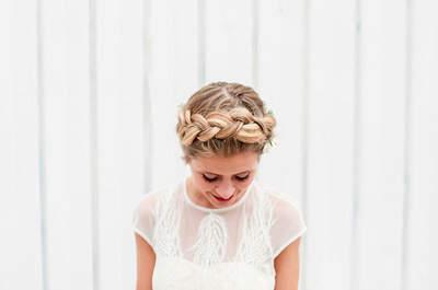 Penteados de noiva com tranças. A tendência que é sempre um sucesso!