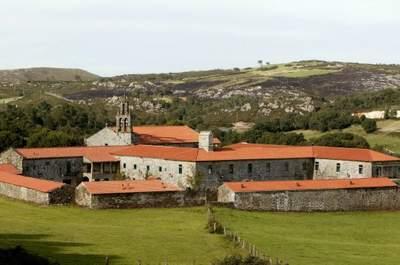 Monasterio de Aciveiro, el lugar perfecto para una boda inolvidable