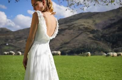 Robes de mariée Marie Laporte 2017 : un vent de romanesque, de poésie et de modernité