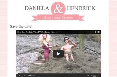 Save the date - So werden Ihre Hochzeitsgäste IHR Datum garantiert nicht vergessen
