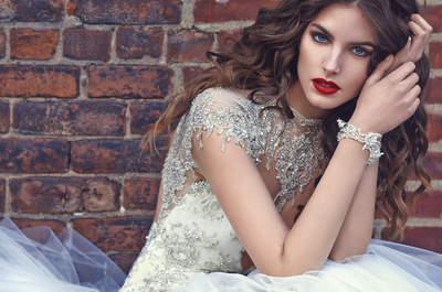 Brautkleider mit Tattoo-Effekt 2016: Der etwas andere Einblick in die moderne Brautmode!