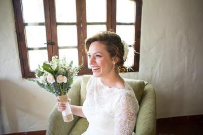 Cómo combinar tu peinado según el escote de tu vestido de novia: 10 ideas para lucir en tu boda
