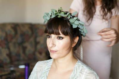 Penteados com franja para noivas: você NÃO DEVE abrir mão do seu corte com franja para o grande dia!