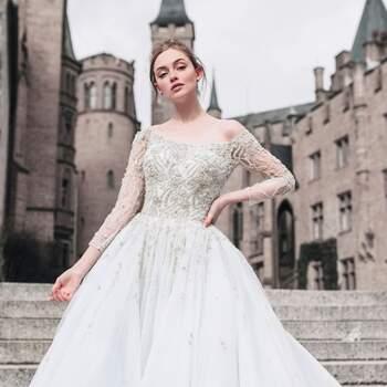 Cinderella by Allure Bridals | Style: DP253 (só disponível nas lojas Kleinfeld) | Créditos: Disney