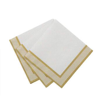 Servilletas oro 20 unidades- Compra en The Wedding Shop