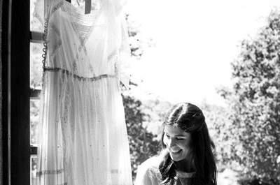 El vestido de novia perfecto para una mujer femenina y sofisticada