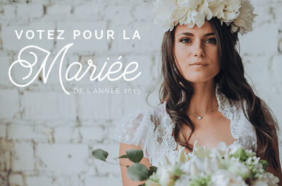 Concours de la mariée de l'année 2015 : découvrez le résultat des votes !