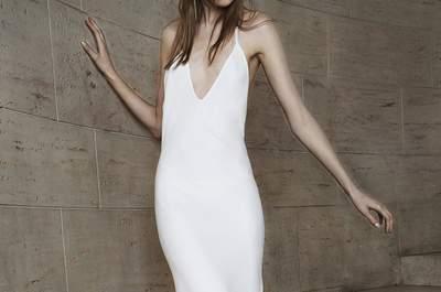 Delicadeza de detalhes e estilo puro nos vestidos de noiva Vera Wang 2015 na New York Bridal Week