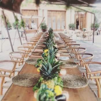 Situada en Mataró (Barcelona), esta casa señorial acoge grandes eventos para hacer de ellos un éxito rotundo. Se encuentra rodeado de naturaleza y con vistas al mar que harán del banquete de tu boda el momento más especial.