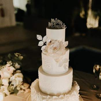 Inspiração para bolos de casamento de 4 andares | Créditos: The Cake Shop - Cake Design by Sónia Marreiros