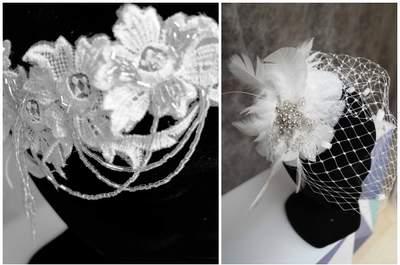Apportez à votre tenue de mariée une touche glamour et vintage avec les accessoires Gwanni