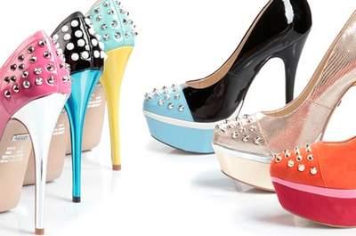 Schuhe mit Nieten für Hochzeitsgäste - Schuhtrend 2013