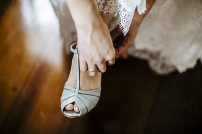Sapatos de noiva: conheça os melhores fornecedores do Brasil!