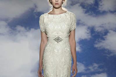 Ouro e prata: luminosidade chique para o vosso vestido de noiva!