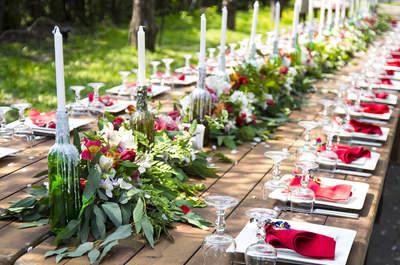 Vermelho para a decoração do seu casamento: a cor da paixão para celebrar o amor!