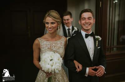 Kryształowe wesele, wzruszająca ceremonia i cudowna oprawa fotograficzna!