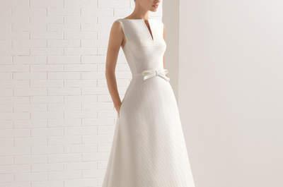 Más de 40 vestidos de novia con lazos. ¡Romanticismo extremo para tu estilismo!