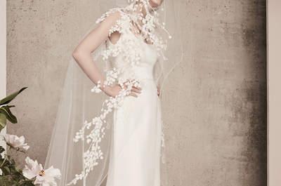 Vestidos de novia corte recto: los mejores modelos de la temporada