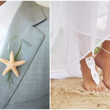Foto: Beach Wedding via Thumblr& Barmine via Etsy