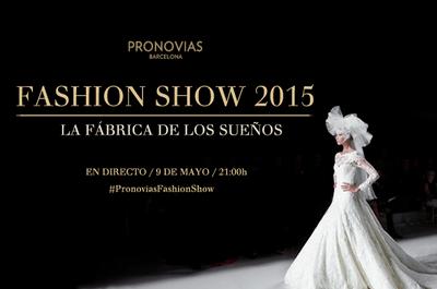 Vive todos los detalles del desfile Pronovias Fashion Show 2015 ¡en vivo desde Zankyou!