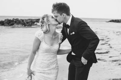 Cómo elegir vestido de novia para una boda playera